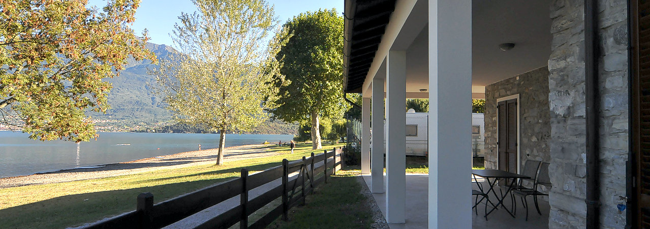 Apartments lake side Domaso lake como