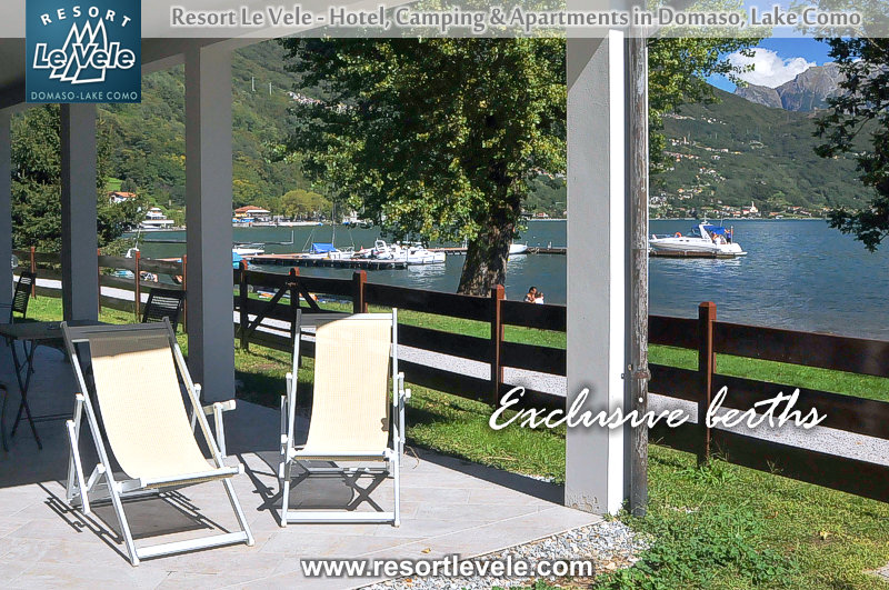 exclusive berths hotel lake como