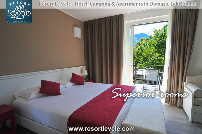 hotel resort le vele domaso lake como rooms lake view