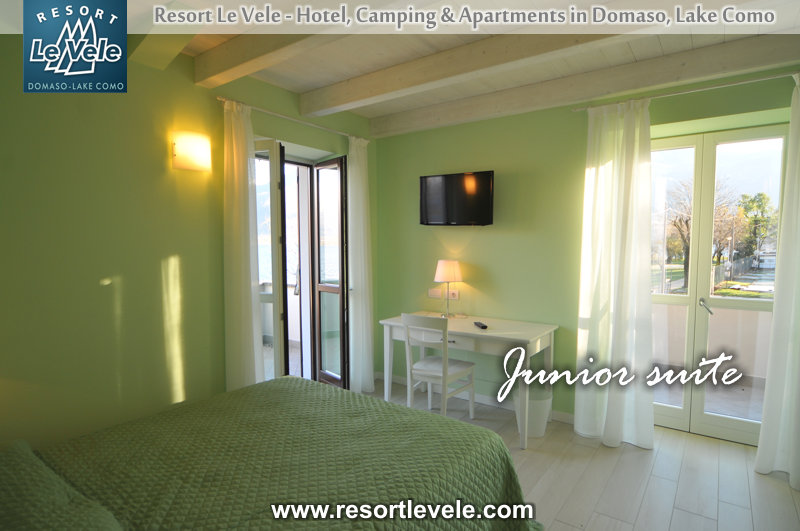 junior suite villa carolina appartements de vacances domaso lac de Come
