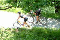 mountain bike lago di como