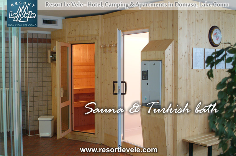sauna turkish bath wellness center hotels Lake Como