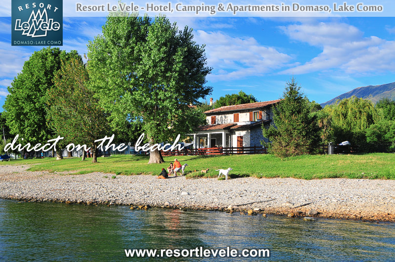 vacation rental villa direct on the beach lake como
